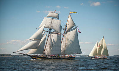 Photograph - Pride Of Baltimore II by Mark Duehmig