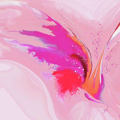 Digital Art - Primavera by Gina Harrison