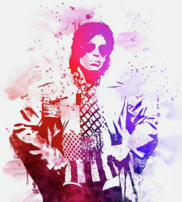 Digital Art - Prince by Ian Mitchell