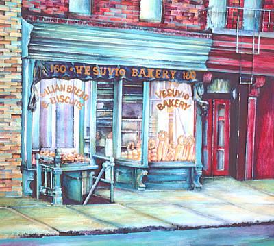 Wall Art - Painting - Prince Street Pride, New York City by Gaye Elise Beda