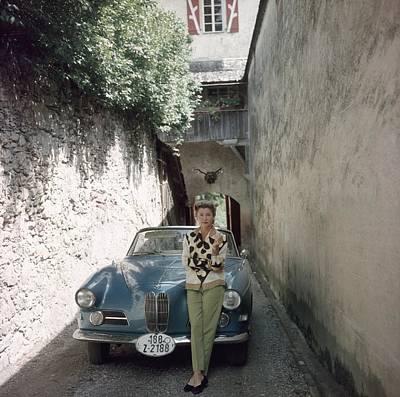 Photograph - Princess Alexander Hohenlohe by Slim Aarons