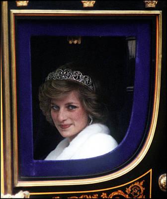 Photograph - Princess Diana by Princess Diana Archive