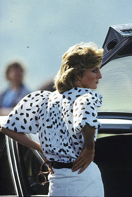 Photograph - Princess Diana Retrospective by Anwar Hussein