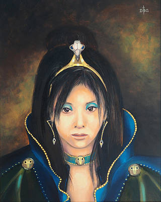 Painting - Princess Mai Karuki by David Bader