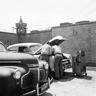 Photograph - Prison Garage by Three Lions