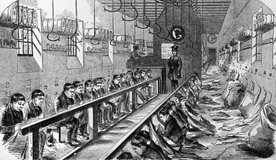 Prisoners At Millbank Art Print by Hulton Archive