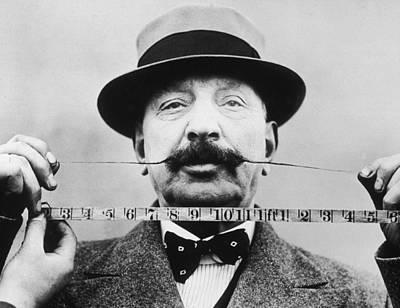 Photograph - Prize Moustache by R. Gates