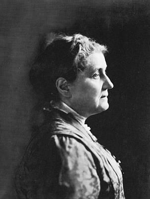 Profile Of Jane Addams Art Print by Hulton Archive