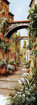 Featured Tapestry Designs - Profumi Tra Gli Archi by Guido Borelli