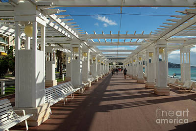Photograph - Promenade Des Anglais Nice France by Wayne Moran