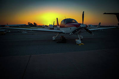 Photograph - Props At Dawn by Jeff Kurtz