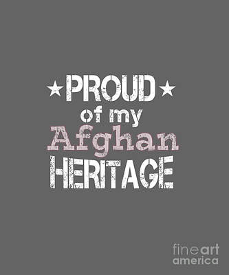 Digital Art - Proud Of My Afghan Heritage by Valerie Garner