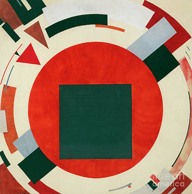 Painting - Proun, Circa 1922 by El Lissitzky