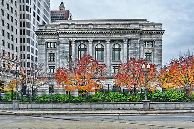 Photograph - Providence Federal Building by Sharon Popek