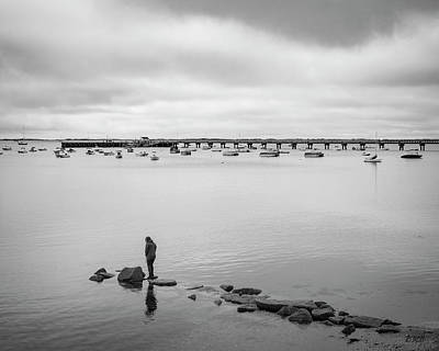 Photograph - Provincetown Harbor IIi Bw by David Gordon