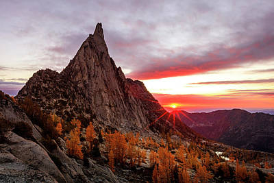 Photograph - Prusik Peak by Johnny Adolphson