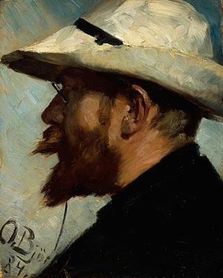 Painting - P.s. Kroyer by Oscar Bjorck