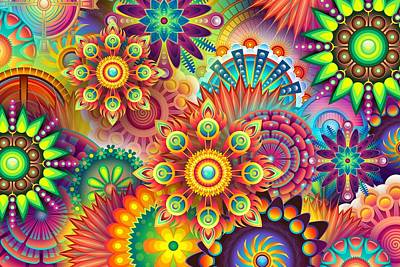 Summer Trends 18 - Psychedelic by Carlene Smith