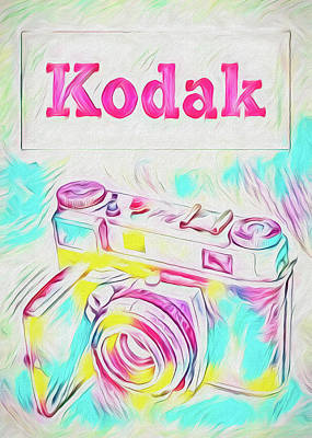 Painting - Psychedelic Kodak by Bob Orsillo