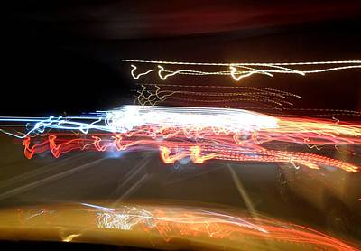 Photograph - Psychedelic Traffic 2 by John Lyes