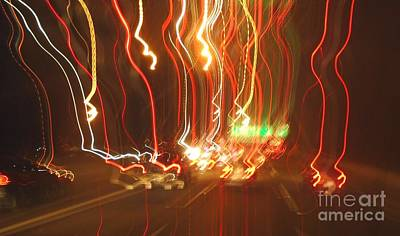 Photograph - Psychedelic Traffic 3 by John Lyes