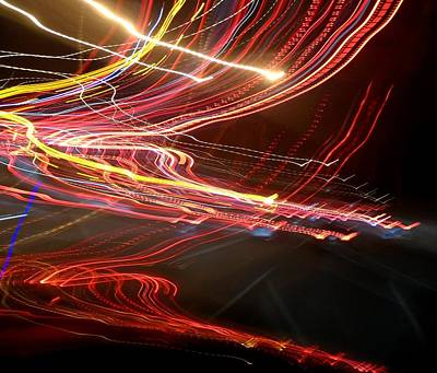 Photograph - Psychedelic Traffic by John Lyes