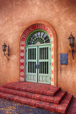 Photograph - Public Library Santa Fe by Chris Smith