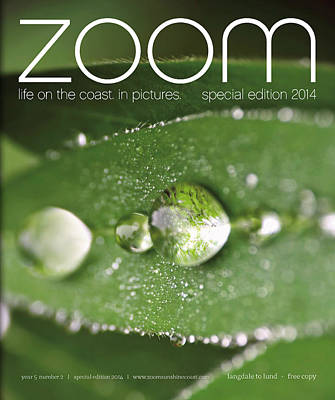 Photograph - Published In Zoom Magazine - Front Cover Special Edition 2014 by Peggy Collins