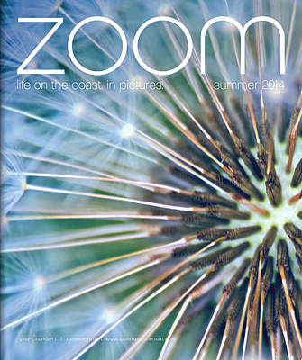Photograph - Published In Zoom Magazine - Front Cover - Summer 2014 Edition by Peggy Collins