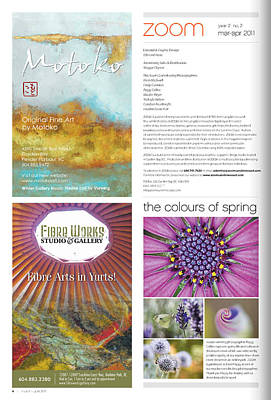 Photograph - Published In Zoom Magazine - March-april 2011, Colors Of Spring by Peggy Collins