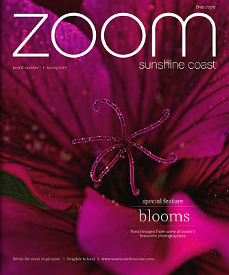 Photograph - Published In Zoom Magazine - Spring 2015 Edition Front Cover by Peggy Collins