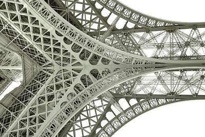 Photograph - Puddle Iron Art by JAMART Photography