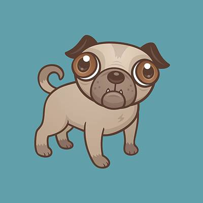 Cartoon Dog Art Prints Fine Art America