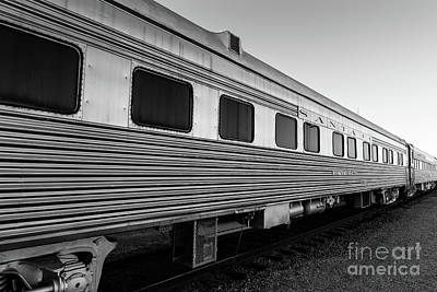 Photograph - Pullman Passenger Cars Santa Fe Railroad by Edward Fielding