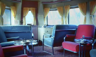Photograph - Pullman Train Car Interior by Rudy Umans