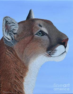 Painting - Puma by Tracey Goodwin