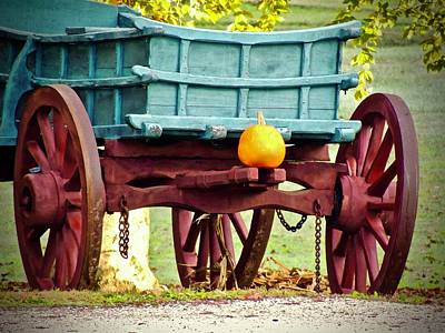 Photograph - Pumpkin Trail Mix by Don Moore