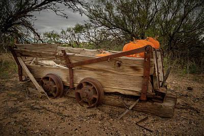 Photograph - Pumpkin Wagon by Jean Noren