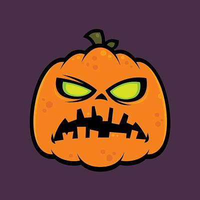 Royalty-Free and Rights-Managed Images - Pumpkin Zombie by John Schwegel