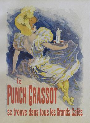 Painting - Punch Grassot, 1895 Vintage French Poster by Jules Cheret