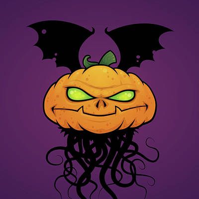 Royalty-Free and Rights-Managed Images - Punkin Monsta by John Schwegel