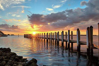 Photograph - Punta Rassa Sunset by Sean Allen