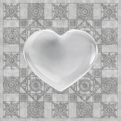 Digital Art - Pure Of Heart by Diego Taborda