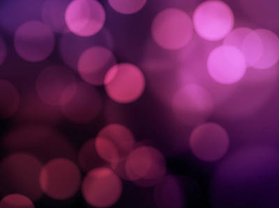 Photograph - Purple Background Lights by Brainmaster
