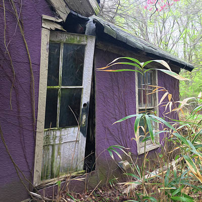 Photograph - Purple Building by Wendy Erickson
