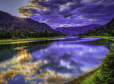 Photograph - Purple Dawn by David Heilman