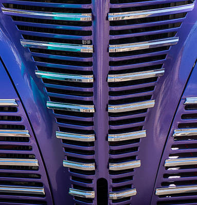 Photograph - Purple Grill by Tom Gresham