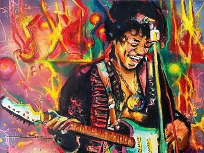 Painting - Purple Haze by Eric Dee