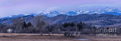 Photograph - Purple Morning Along The Front Range by Ronda Kimbrow