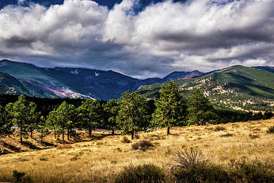 Photograph - Purple Mountains by James L Bartlett